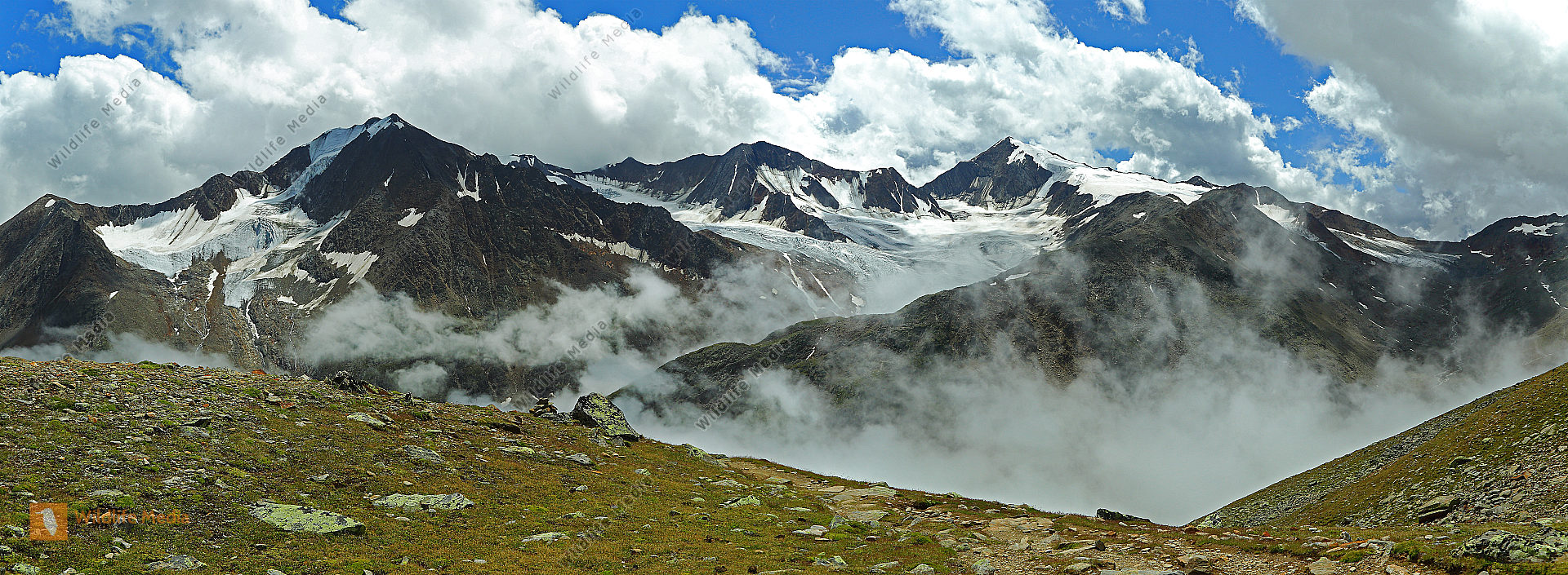 Ötztaler Alpen Panorama
