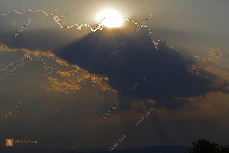 Sonnenuntergang Burgenland