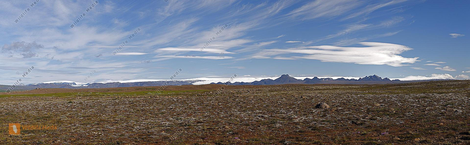 Langjökull Panorama