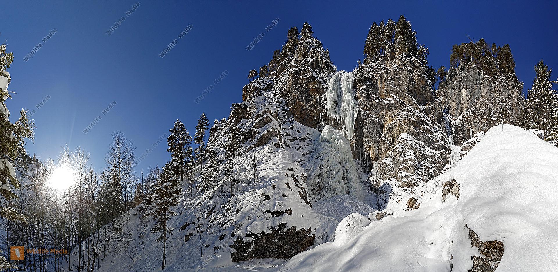 Mirafall im Winter
