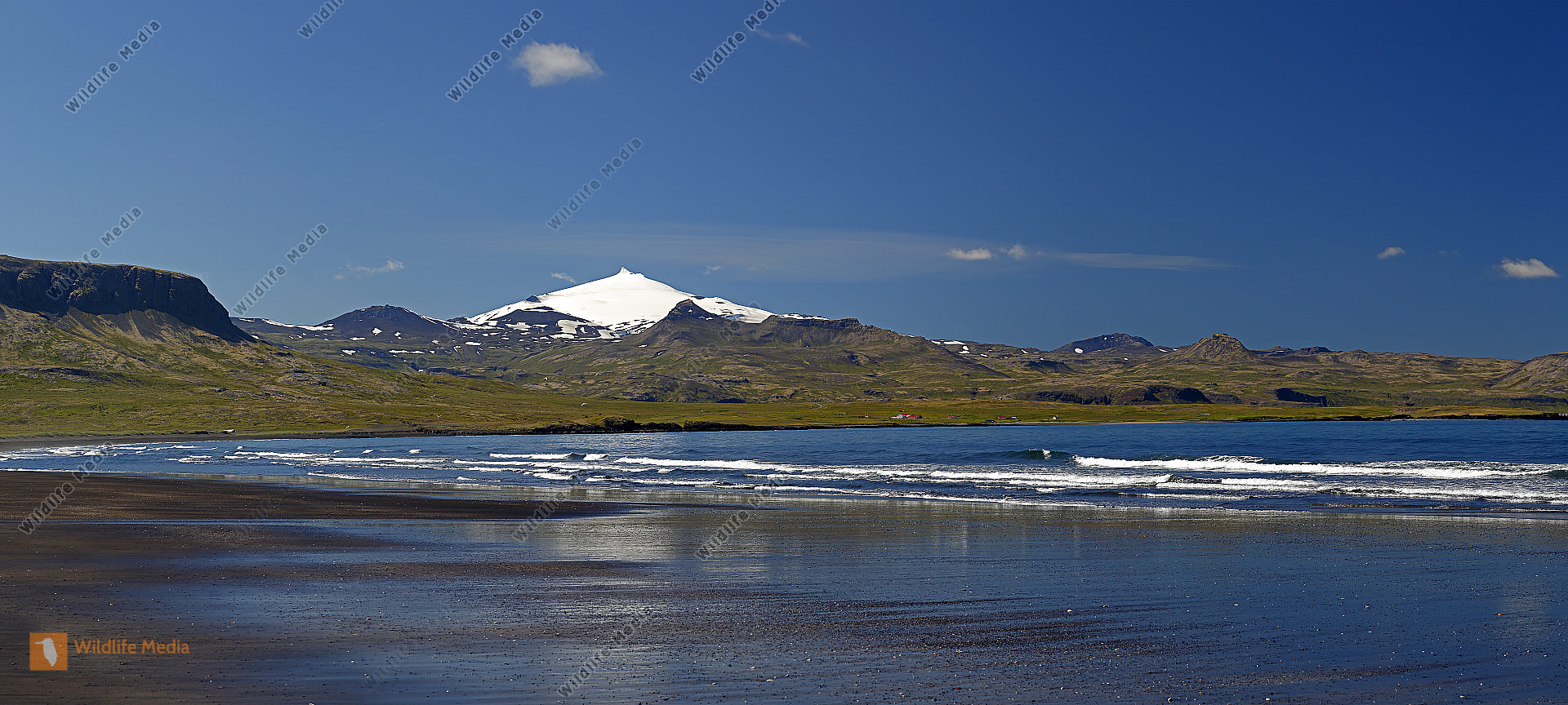 Snaefellsjökull Panorama